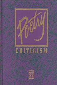 Poetry Criticism download ebook