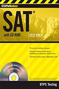 CliffsNotes SAT with CD-ROM download ebook