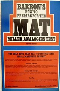 Barron's How to prepare for the Miller analogies test (MAT) download ebook