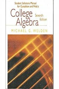 College Algebra (Student Solutions Manual) download ebook