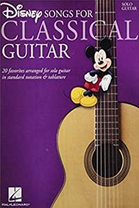 Disney Songs for Classical Guitar: Standard Notation & Tab download ebook