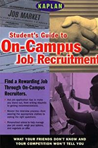 Kaplan Student's Guide to on-Campus Job Recruitment download ebook
