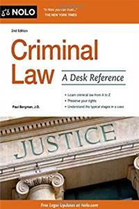 Criminal Law: A Desk Reference download ebook