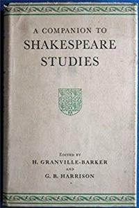 Companion to Shakespeare Studies download ebook