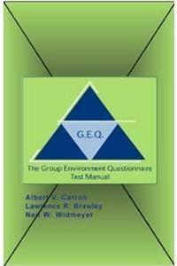 Group Environment Questionaire Test Manual download ebook
