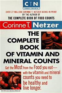 The Complete Book of Vitamin and Mineral Counts (Dell Women's Health) download ebook