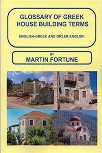 Glossary of Greek House Building Terms, English-Greek and Greek-English download ebook