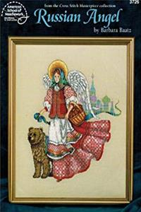 Russian Angel Cross Stitch Pattern #3726 By Barbara Baatz (Cross Stitch Masterpiece Collection) download ebook